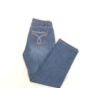 CALVIN KLEIN skinny Jean's. Size 8